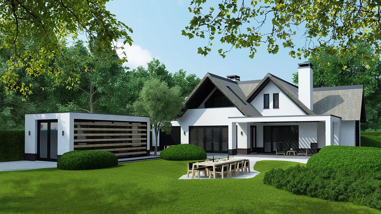 Hoe ziet uw droomhuis eruit Laat ons uw villa te