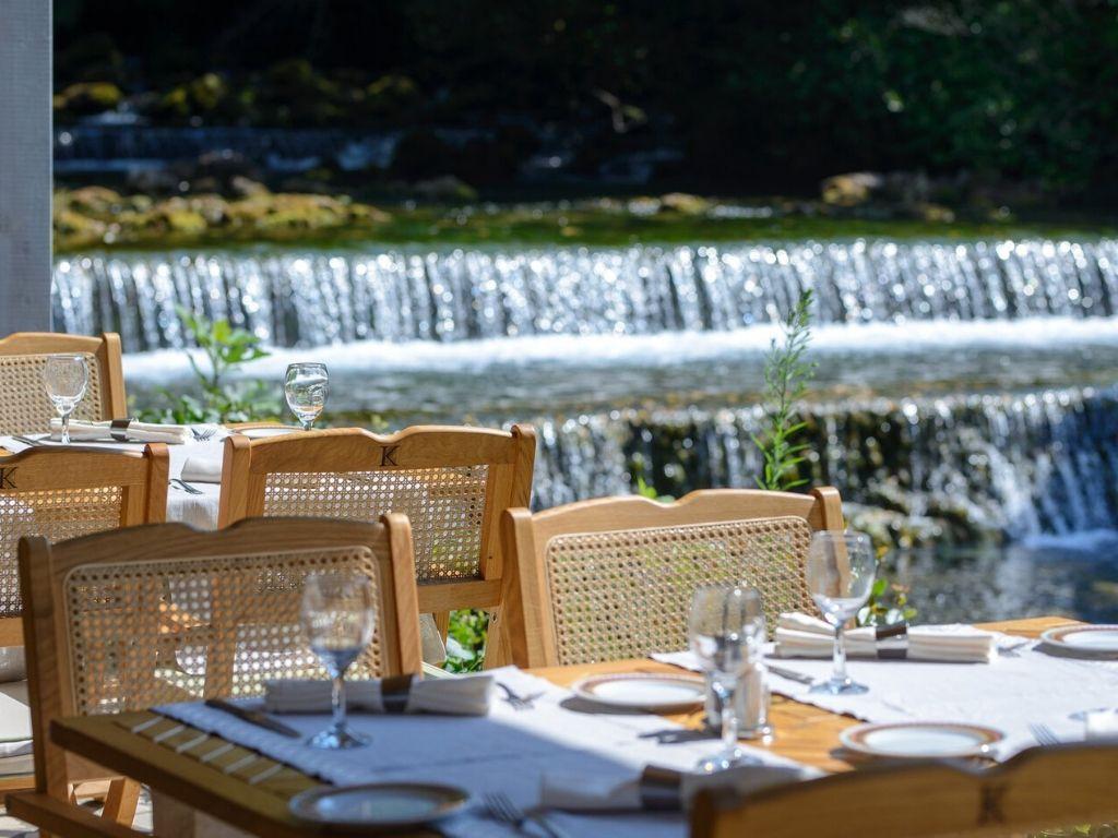 restauracja w Konavle przy młynach