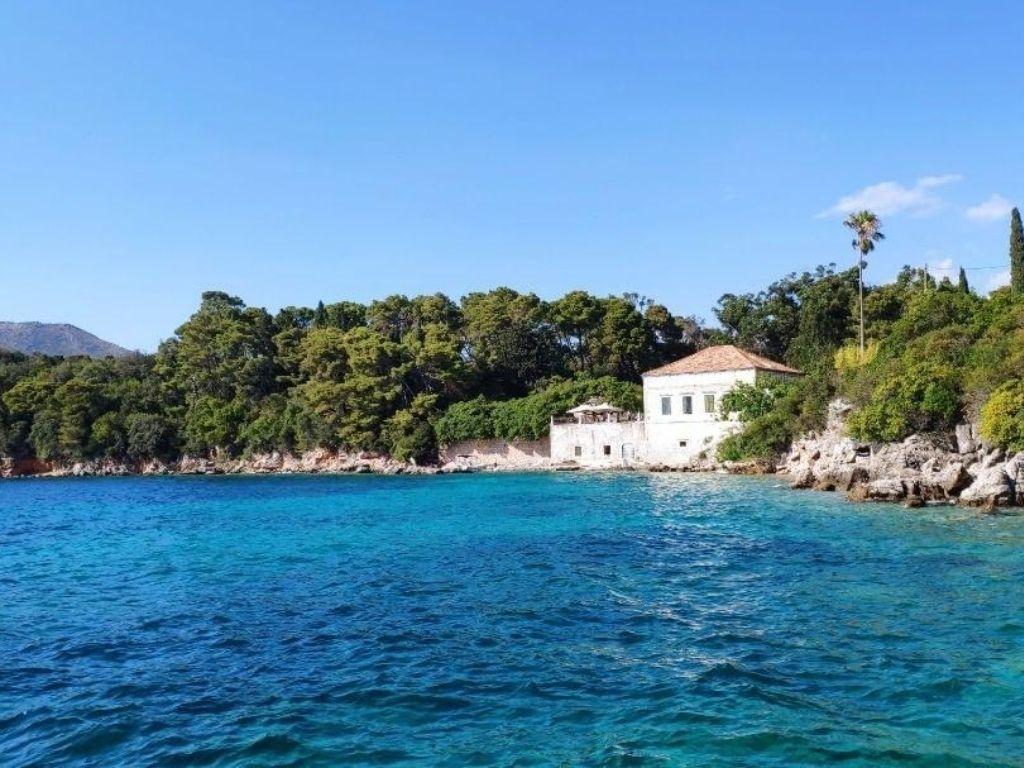 Wybrzeże wyspy Šipan