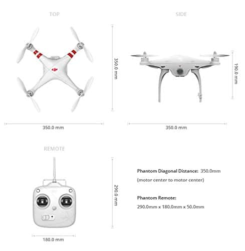DJI Phantom 2 Quadcopter V2.0 Bundle, 3-Axis Zenmuse H4-3D