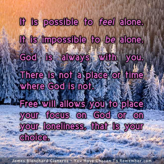 Inspirational Quote about Feeling God's Presence