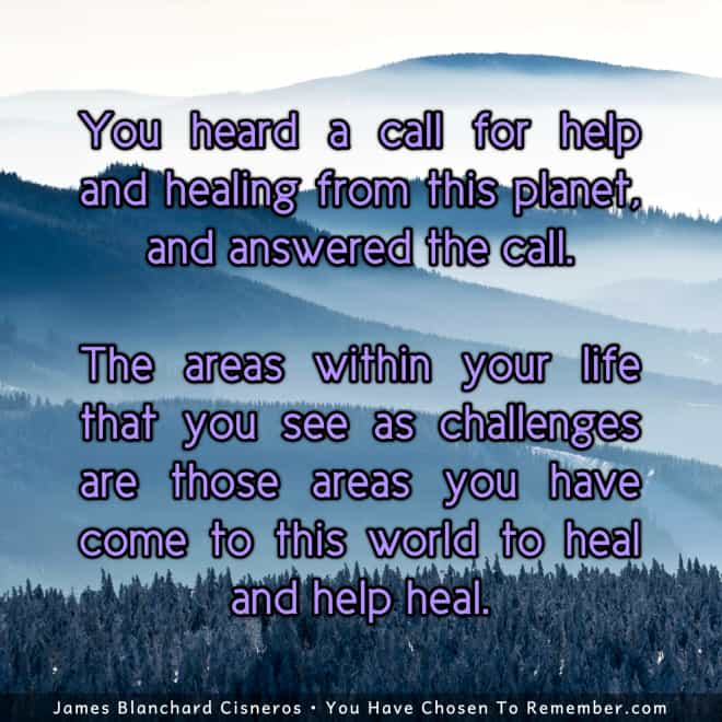Inspiring Quote about Challenges, Life Lessons and Healing