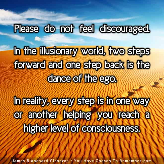 Inspirational Quote - Every experience helps us grow and evolve our consciousness