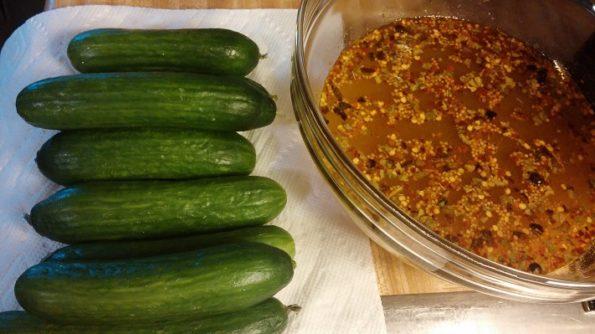 Refrigerator Sweet Pickles