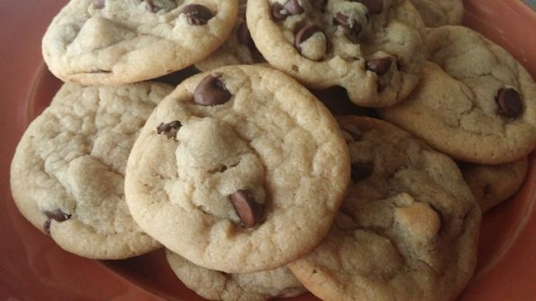 Old World Chocolate Chip Cookies
