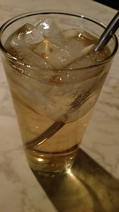 Whiskey Green Tea Highball