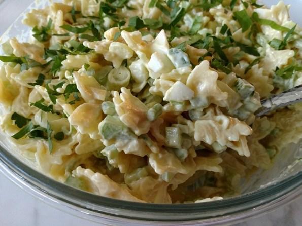 Creamy Southern Pasta Salad Chowdown Lowdown