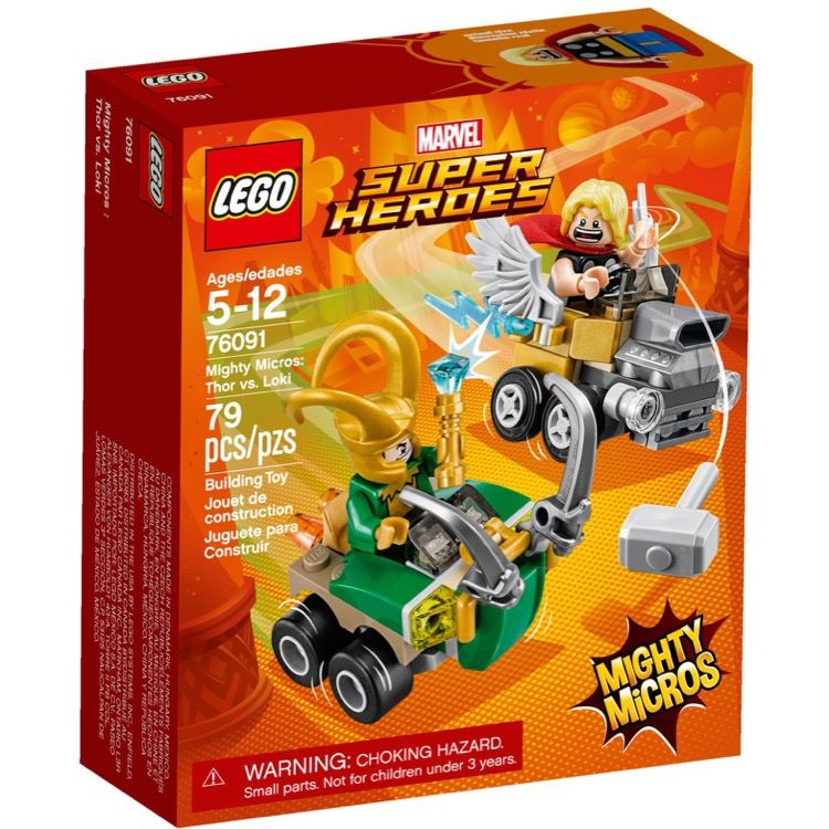 Lego Mighty Micros Super Heroes