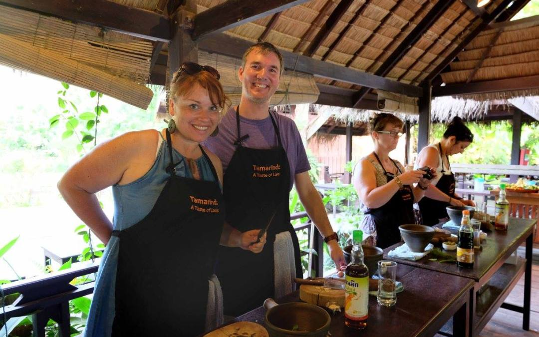 Learning at Tamarind Cooking School (Luang Prabang, Laos)