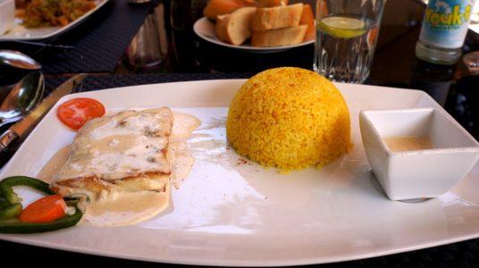 Capataine QG Restaurant Niamey Niger