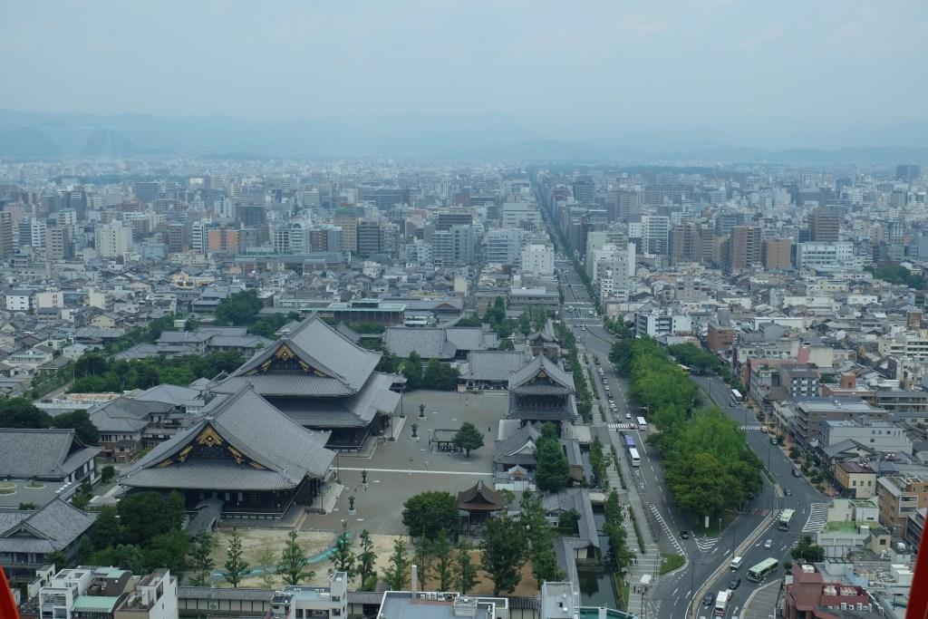 Higashi Honganji Temple Kyoto Tower