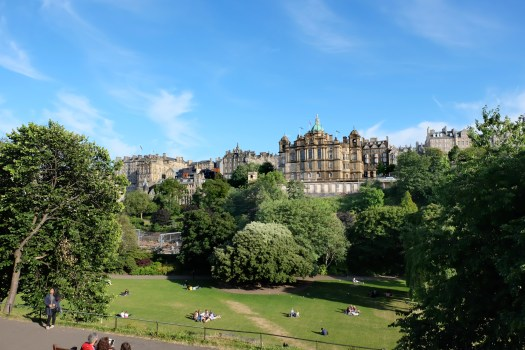 Princes Street Garden Edinburgh