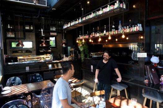 The inside of Gallery Sushi Bangkok