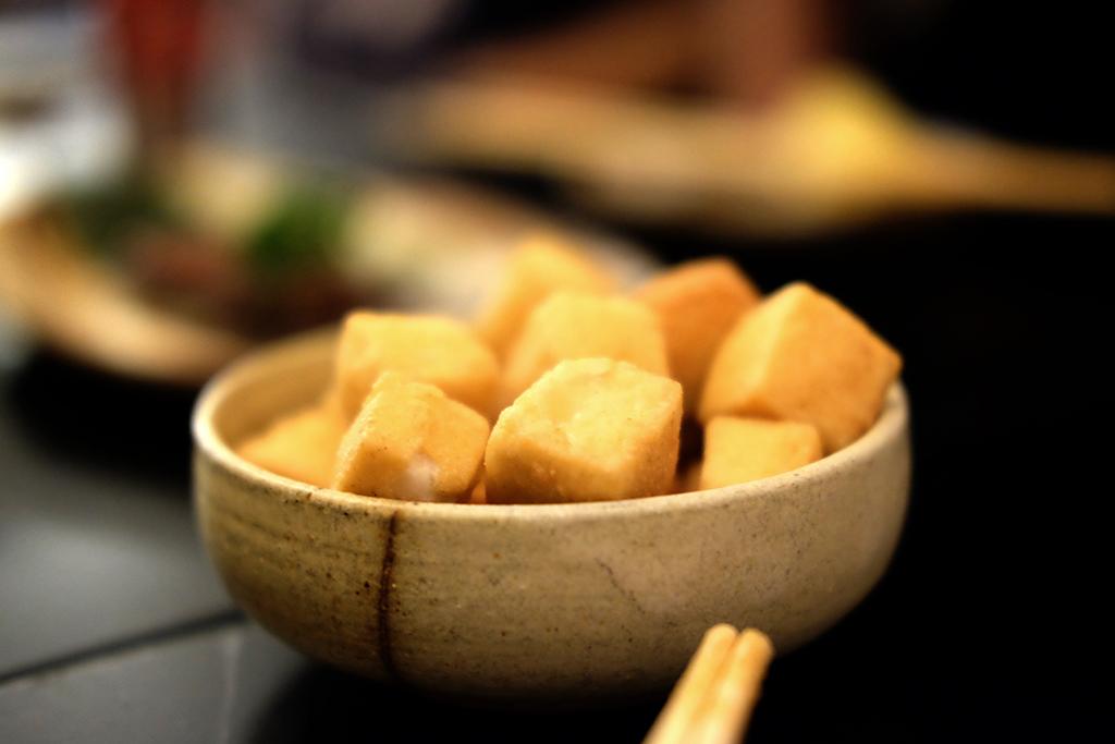 Tofu Karaage at Bambino Bangkok