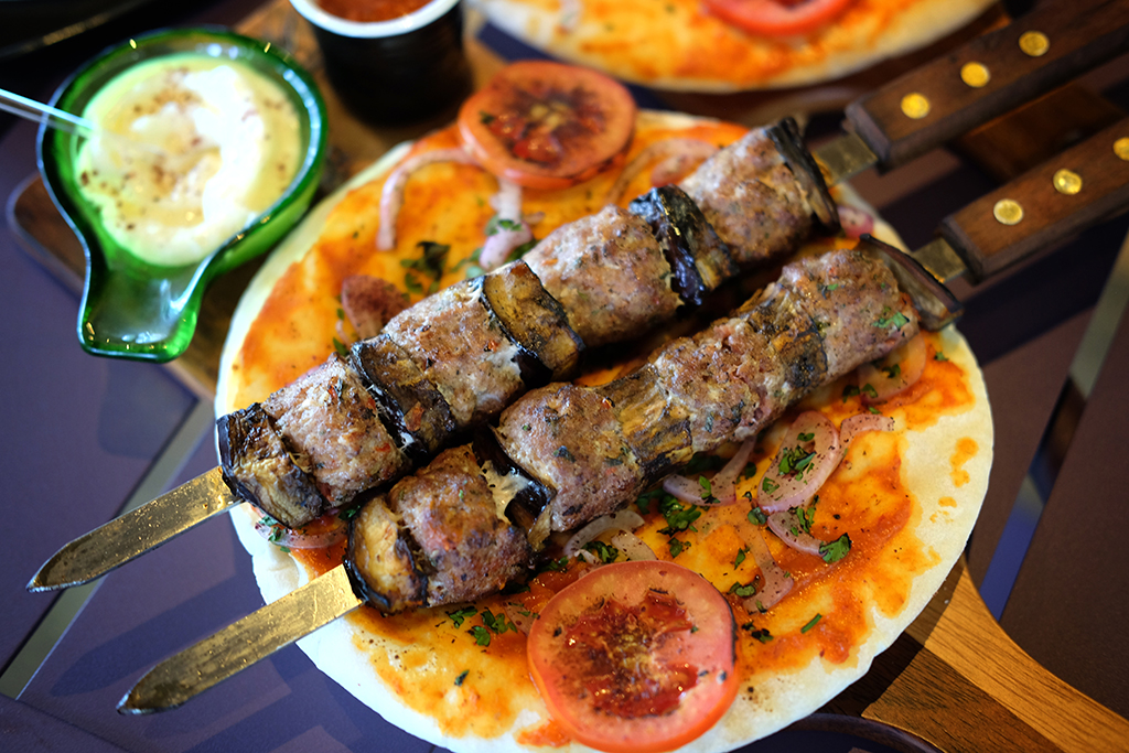Spicy Meatball Skewers at The 51 Tasty Moments Bangkok