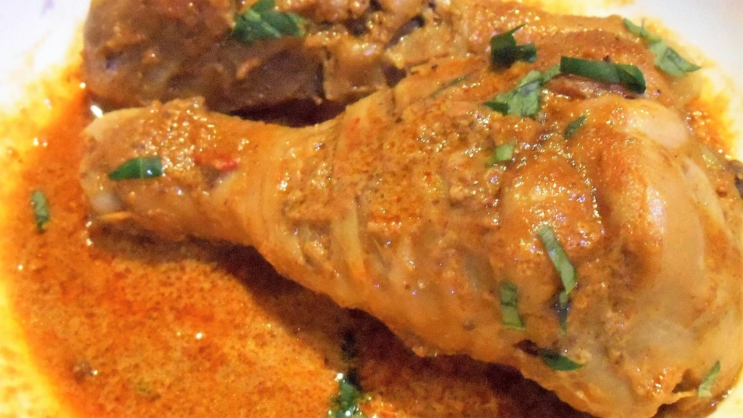 Dry Laksa Chicken