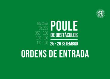 Ordens de Entrada – Poule