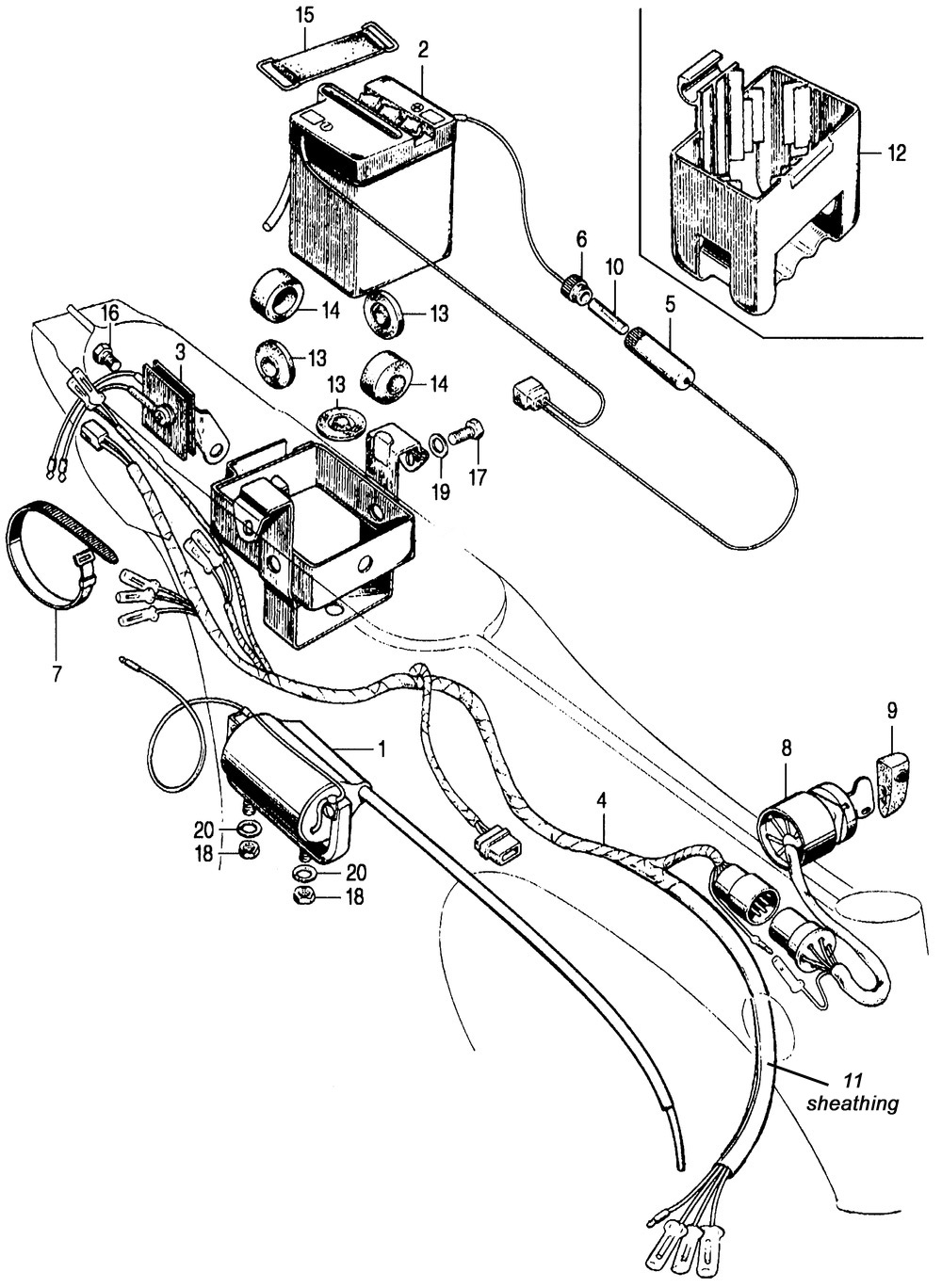 hight resolution of ct70 12 volt wire harness