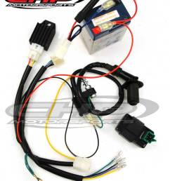 conversion kit for a new 12 volt cdi motor to 6 volt with cdi chp ct70 12 volt wire harness [ 800 x 995 Pixel ]