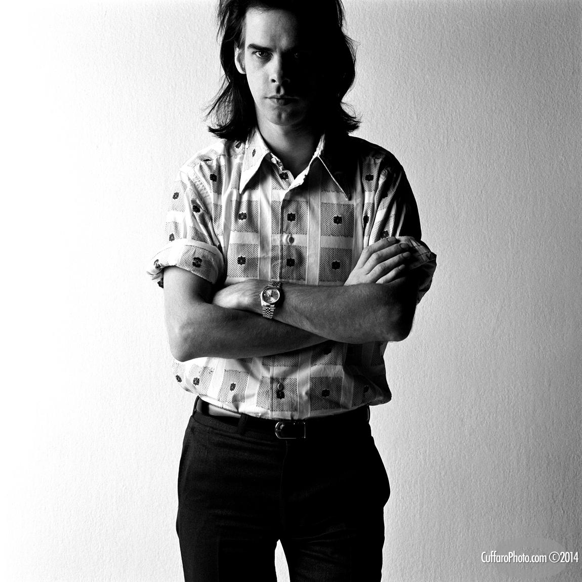 Nick Cave by Chris Cuffaro