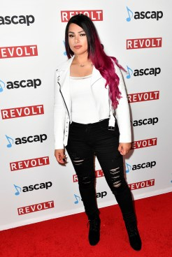 BEVERLY HILLS, CA - JUNE 22: Snow Tha Product at the ASCAP 2017 Rhythm & Soul Music Awards at the Beverly Wilshire Four Seasons Hotel on June 22, 2017 in Beverly Hills, California. (Photo by Earl Gibson III/Getty Images for ASCAP)