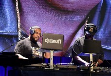 BEVERLY HILLS, CA - JUNE 22: DJ Enuff and Clark Kent perform onstage at the ASCAP 2017 Rhythm & Soul Music Awards at the Beverly Wilshire Four Seasons Hotel on June 22, 2017 in Beverly Hills, California. (Photo by Lester Cohen/Getty Images for ASCAP)
