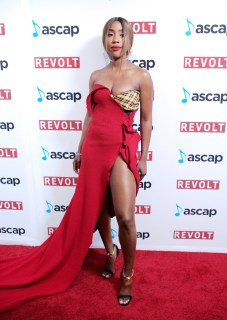 BEVERLY HILLS, CA - JUNE 22: Sevyn Streeter at the ASCAP 2017 Rhythm & Soul Music Awards at the Beverly Wilshire Four Seasons Hotel on June 22, 2017 in Beverly Hills, California. (Photo by Earl Gibson III/Getty Images for ASCAP)