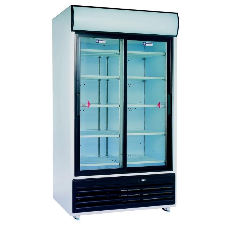 diamond armoire positive a boissons 2 portes 875 l