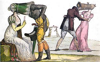 !8th Century Bonnets cartoon