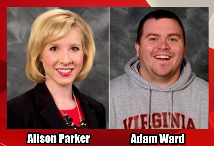 Alison Parker et Adam Ward ont été tués par leur ancien collègue le 26 août 2015
