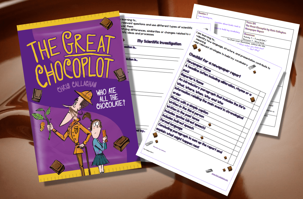 The Great Chocoplot, Chris Callaghan, School Resources
