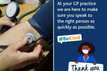 Be kind poster  for Gps