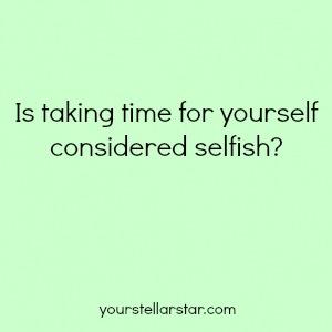 Selfish 1