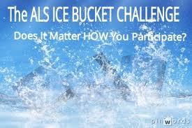 The Ice bucket Challenge 1