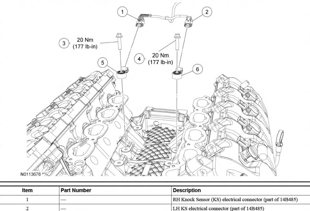 medium resolution of ford knock sensor wiring wiring diagram load ford knock sensor wiring