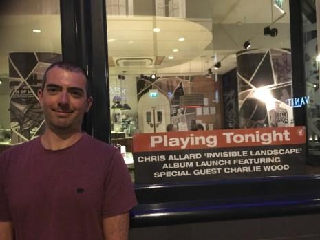 July 14th 2016 at Pizza Express Jazz Club Soho