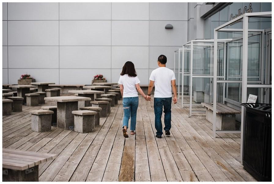 Halifax Boardwalk Waterfront Engagement Session