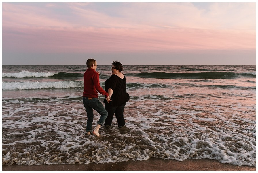 Martinique Beach, Nova Scotia Engagement Session