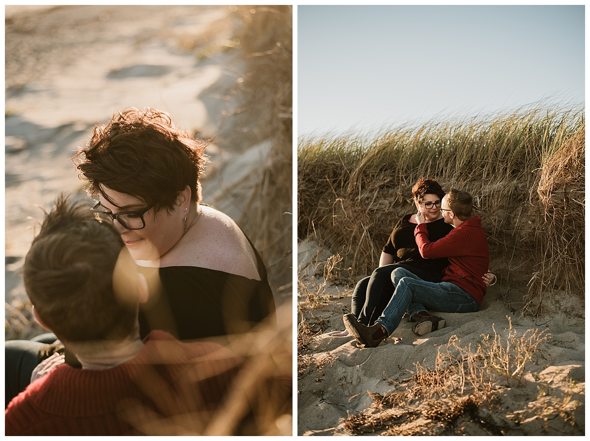 Martinique Beach, Nova Scotia Engagement Session