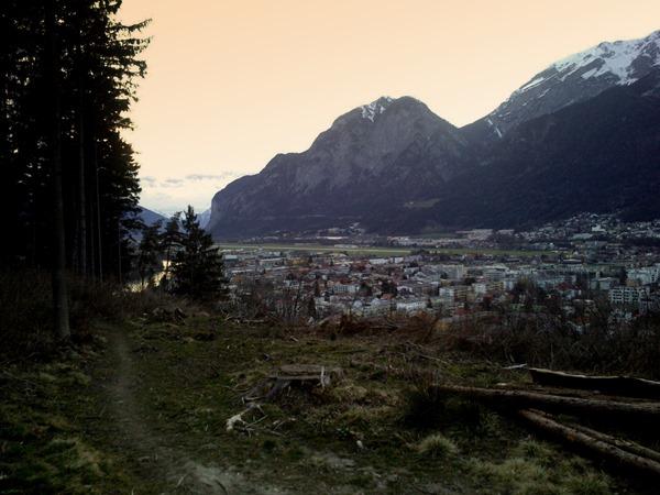 Mentelberg singletrack Innsbruck