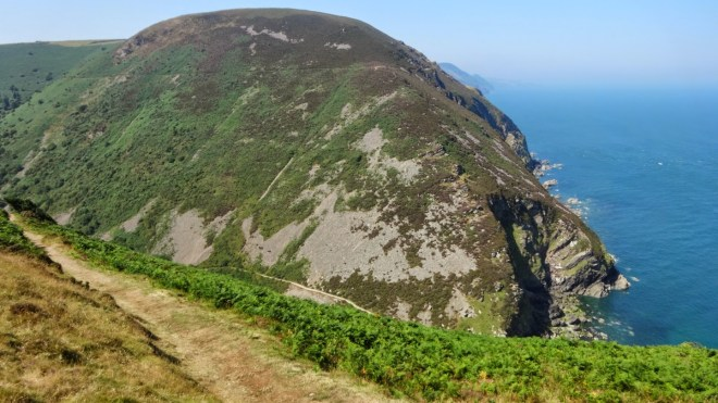 Looking into Heddon's Mouth.