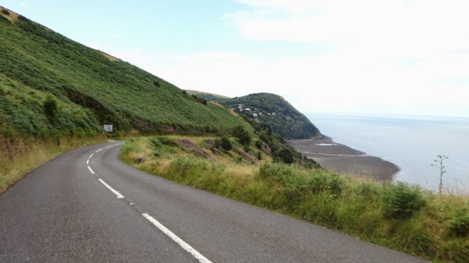 Countisbury Hill is famous in the UK as one of the hardest climbs. The first mile is at 25% gradient