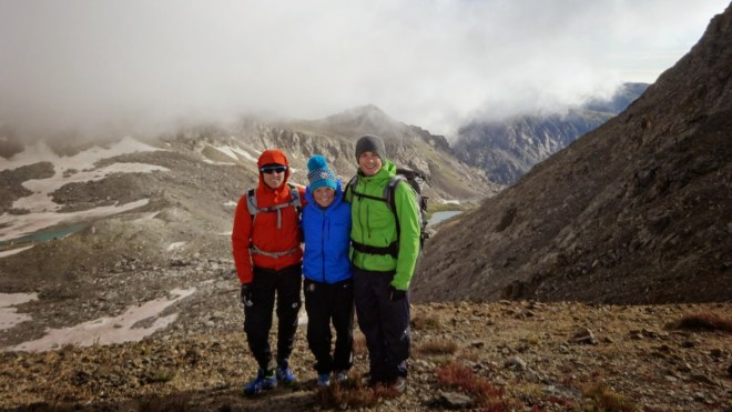 Taken before the summit!