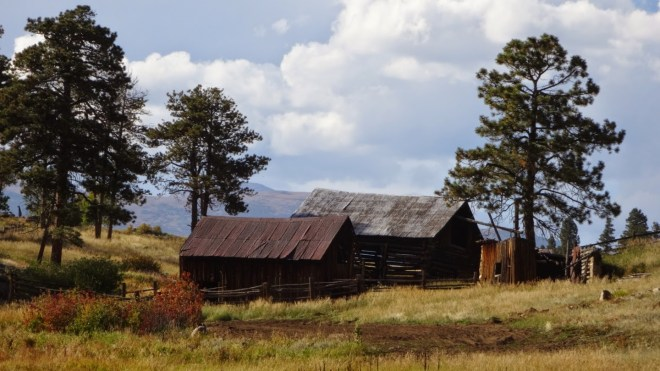 An  old ranch on the north side of Magnolia road