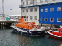 Lifeboats looks exactly the same all across the world.