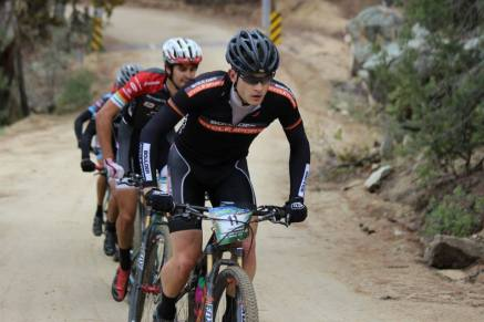 Climbing Skull Valley with Payson in tow