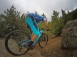 Bryan enjoying the trails