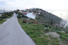 Some really cool roads wind up from the seaside into the hills from the village