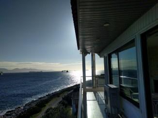 A relaxing seaside house