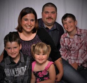 Chris Barmby Family Photo